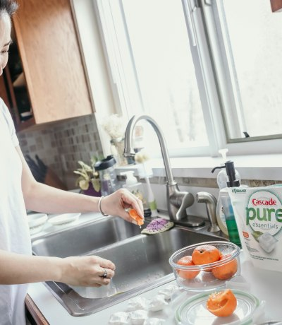 cleaning tips for the kitchen sink