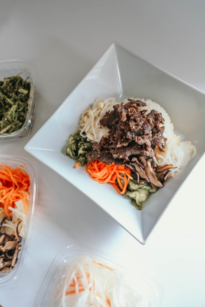 Homemade Korean Bibimbap Bowl Recipe