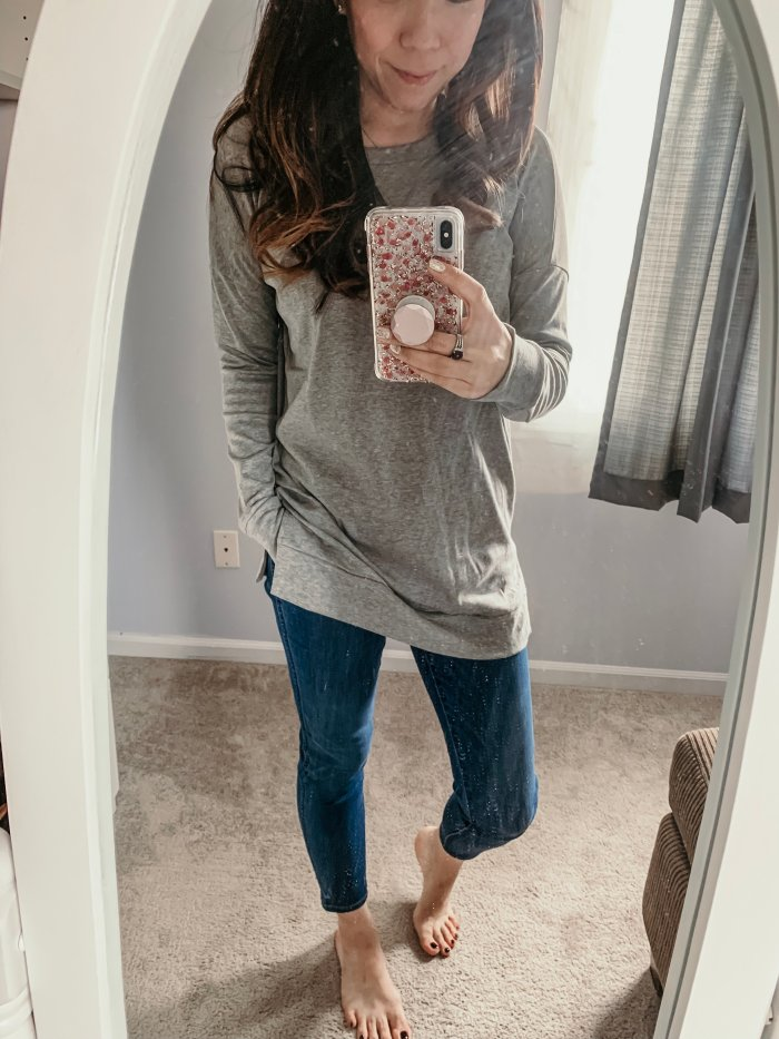 Amazon Favorites - Levaca Tunic Light Weight Sweatshirt Tee