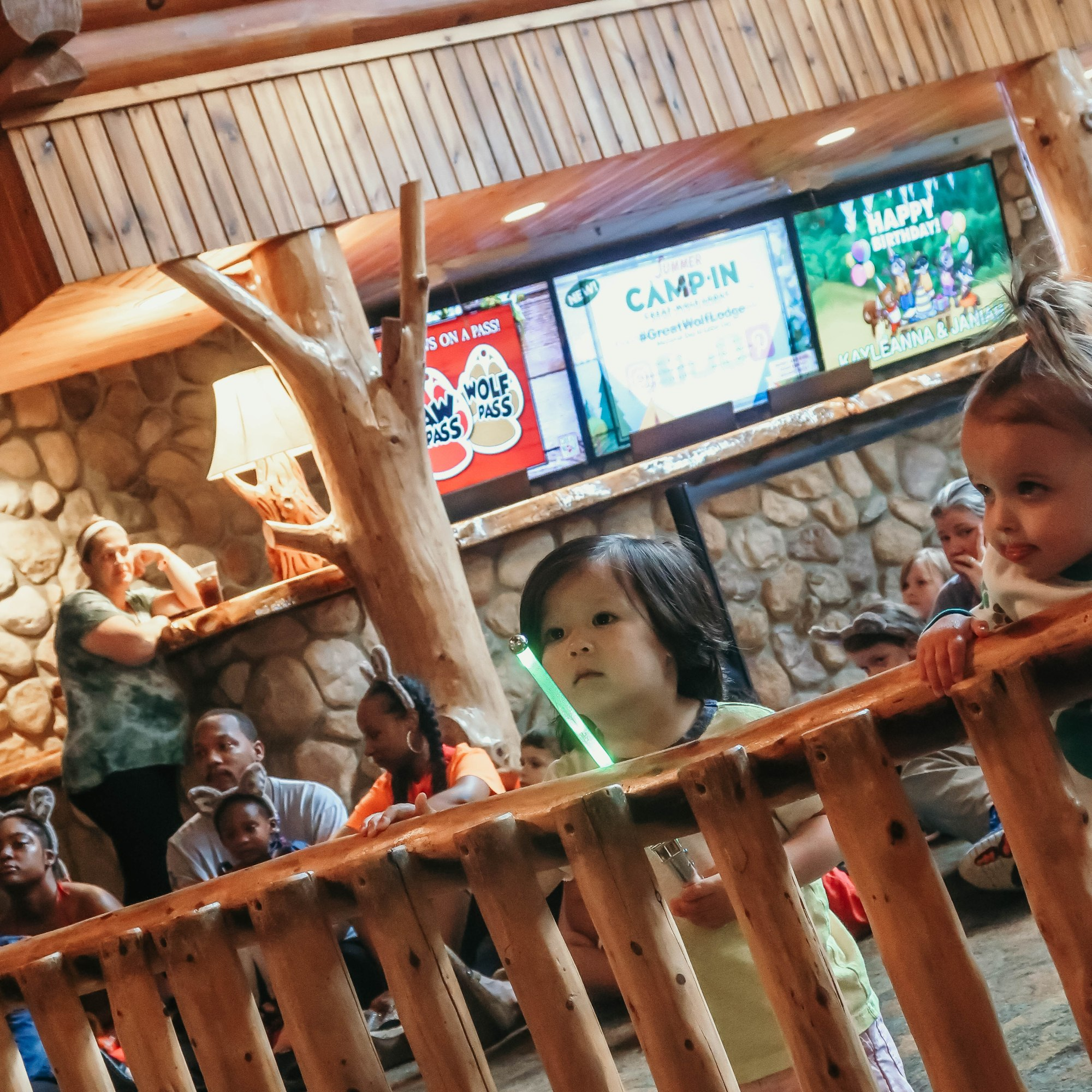 Summer Camp-In at Great Wolf Lodge Sandusky Ohio