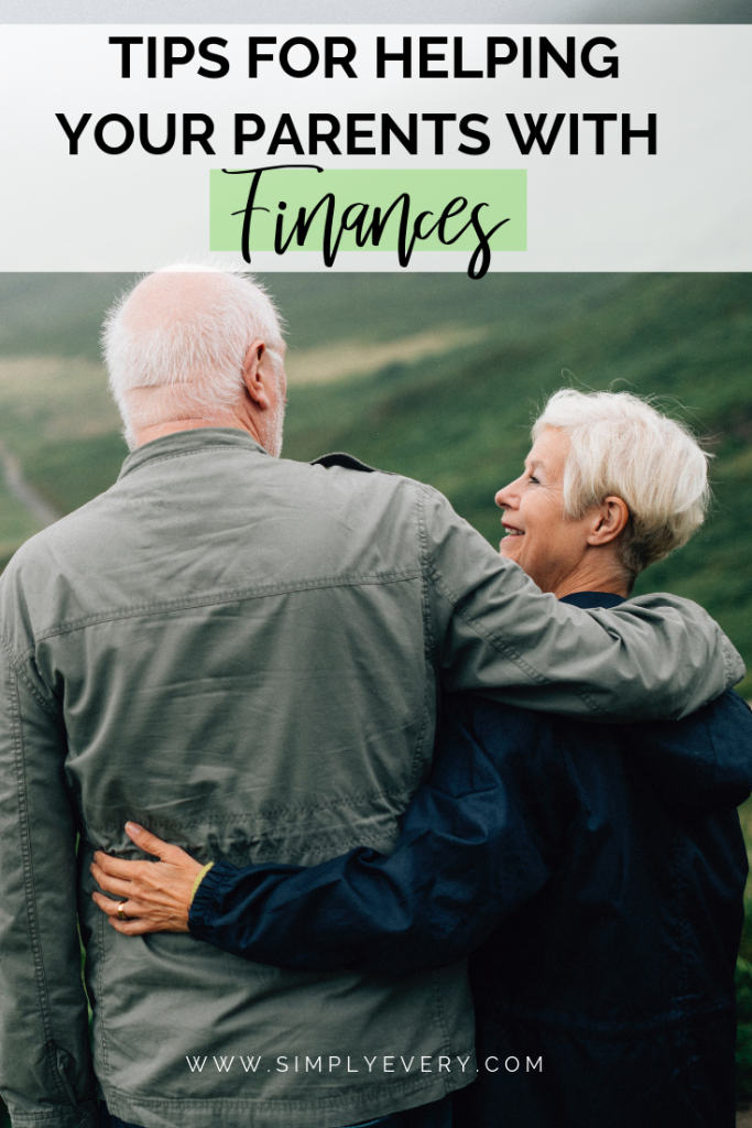 Tips for Helping Your Parents with Finances