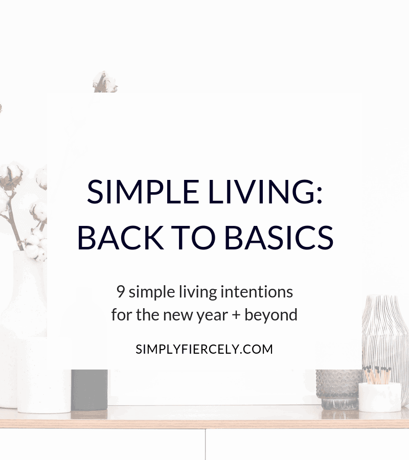 Are you craving ease and simplicity in your life? Then it's time to get back to basics with simple living.