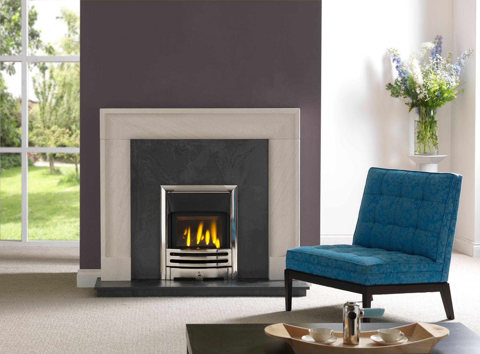 Arlington Limestone Fireplace Surround