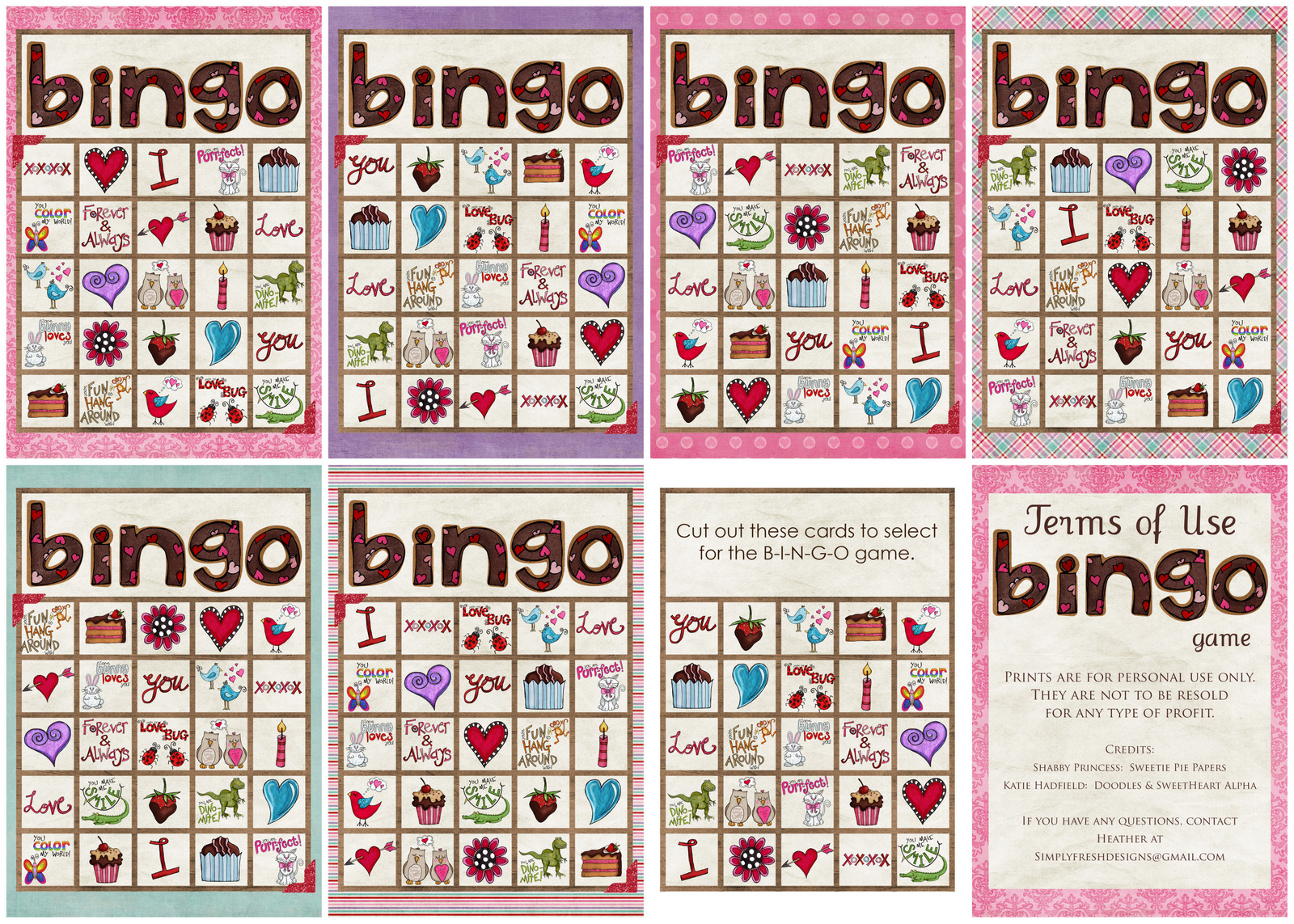 Valentine S Day Bingo Game