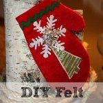 Easy DIY: Cute Felt Giftcard Holder