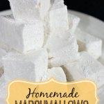 My Christmas Baking: Homemade Marshmallows