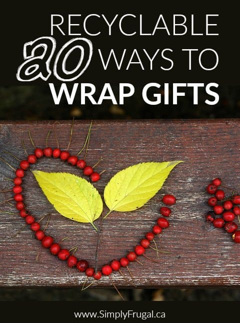 Recyclable Ways to Wrap Gifts