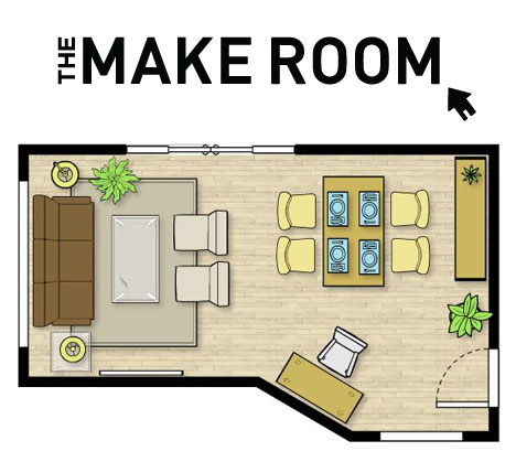 Free online room planning tool by urban barn for Space planning tools online free