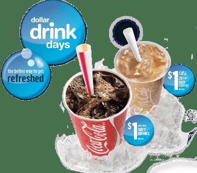 mcdonald's dollar drink days