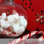 A Homemade Christmas Gift: Hot Chocolate Ornaments