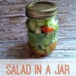 Easy Recipe: Salad in a Jar