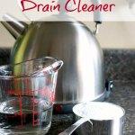 DIY Natural Drain Cleaner
