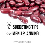 7 Budgeting Tips For Menu Planning