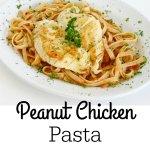Peanut Chicken Pasta
