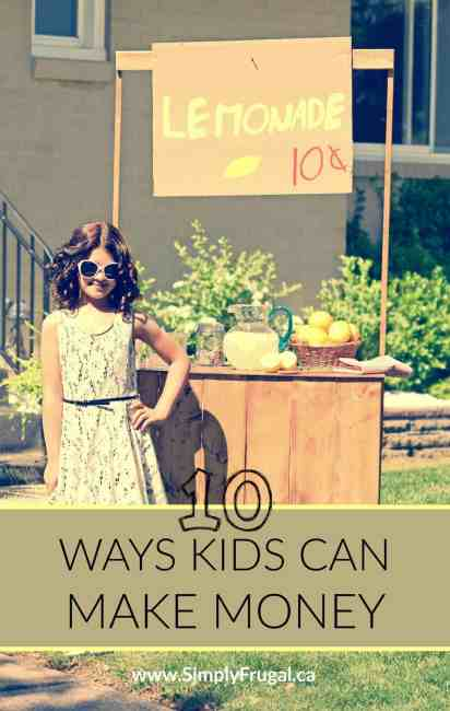 Your little entrepreneur is sure to find something here in this list of 10 ideas they can do this summer to make money! These are fantastic ways to teach responsibility, money management, and many other life skills in a real life setting.