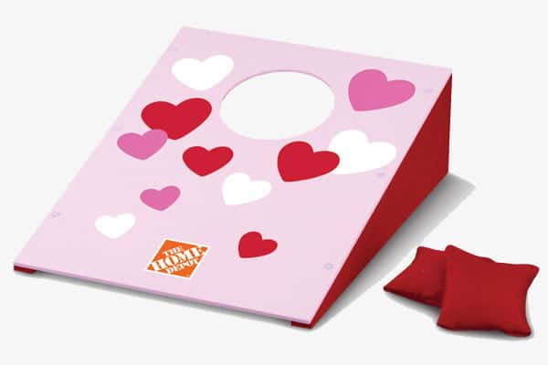 Image result for Valentine Bean Bag Toss Home Depot