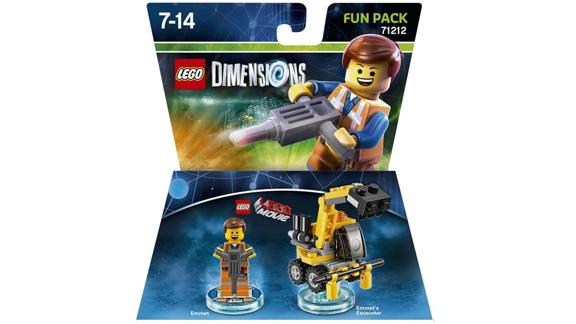 Lego Dimensions The Lego Movie Fun Pack Emmett On PS4