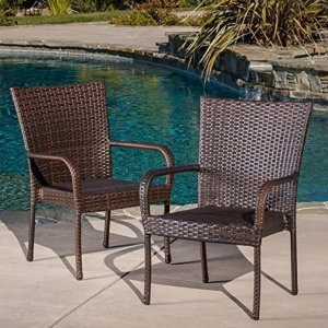 Best Selling Outdoor Wicker Chairs, 2-Pack