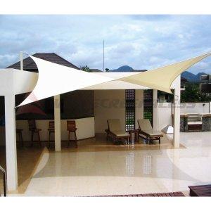 Windscreen4less 14' x 14' Sun Shade Sail Square Canopy