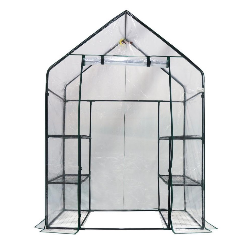 medium sized portable greenhouse