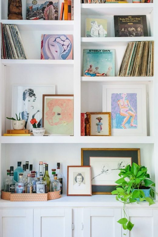 Gallery Wall Galore, a Home Tour via Simply Grove