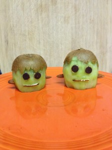 Kiwi made into Frankenstein