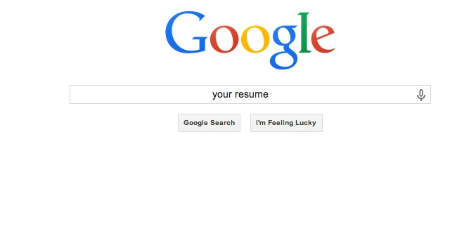 help recruiters find your on google