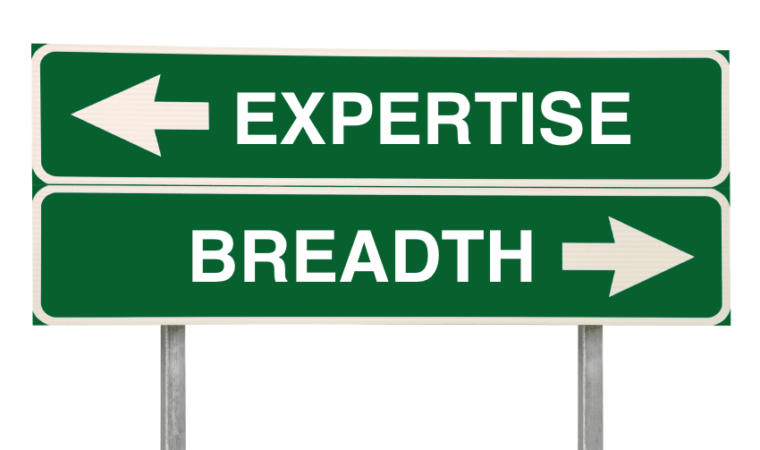 breadth or expertise which is better for your career
