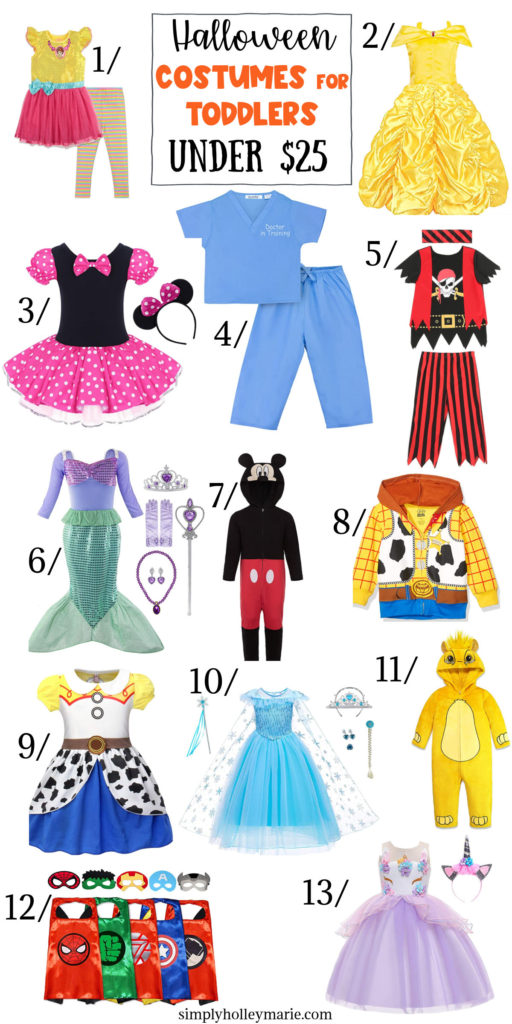 list of toddler halloween costumes
