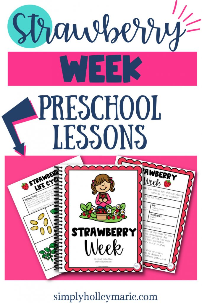 Strawberry Week Preschool Lesson Plans images of plans