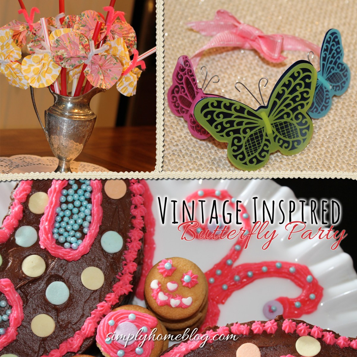 A Vintage Inspired Butterfly Party