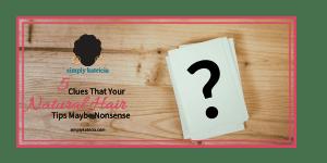 clues natural hair tips