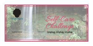 self care unplug