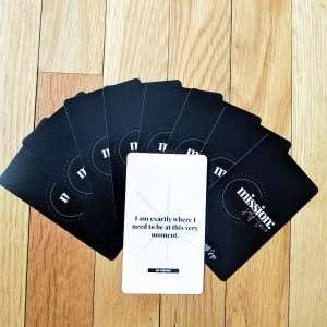 affirmation card Yetti