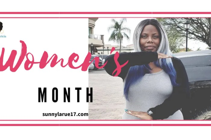 Celebrating Women's History Month with Sunny Larue