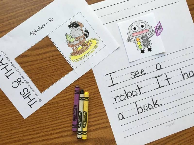 Alphabet Writing Prompts