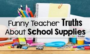 Funny Teacher Truths About School Supplies (told through GIFs)