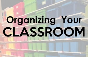 Tips for Organizing Your Classroom using great finds from The Organization Store!