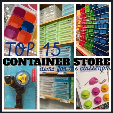Top 15 Container Store School Finds!