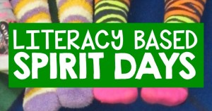 literacy based spirit day ideas