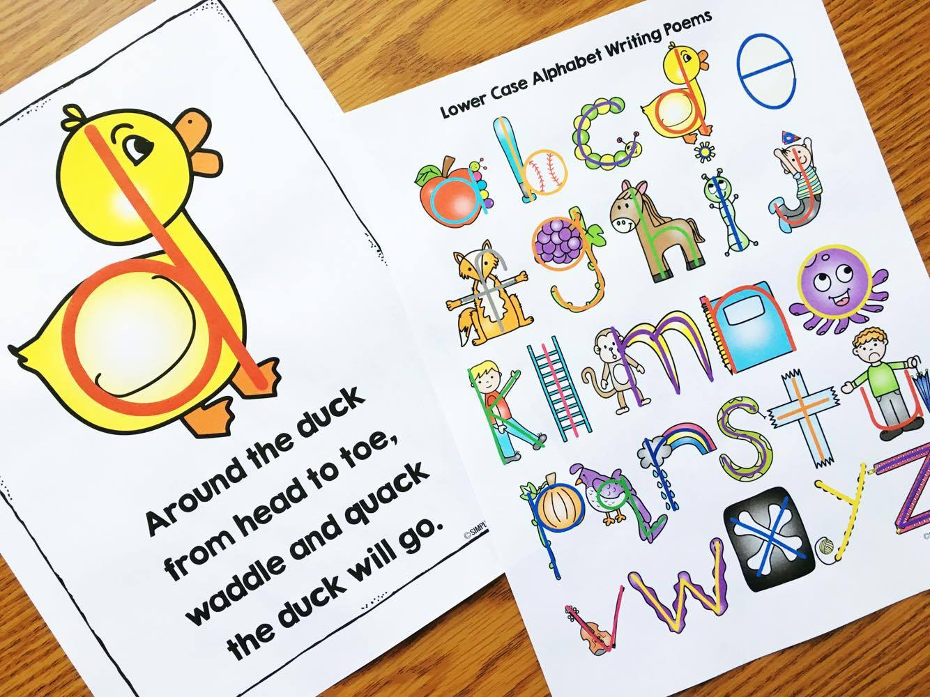 Kindergarten Reading Printables