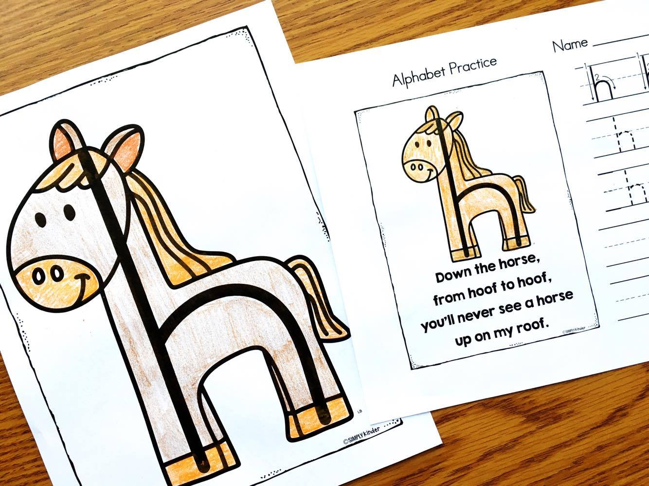 Kindergarten Reading Printables