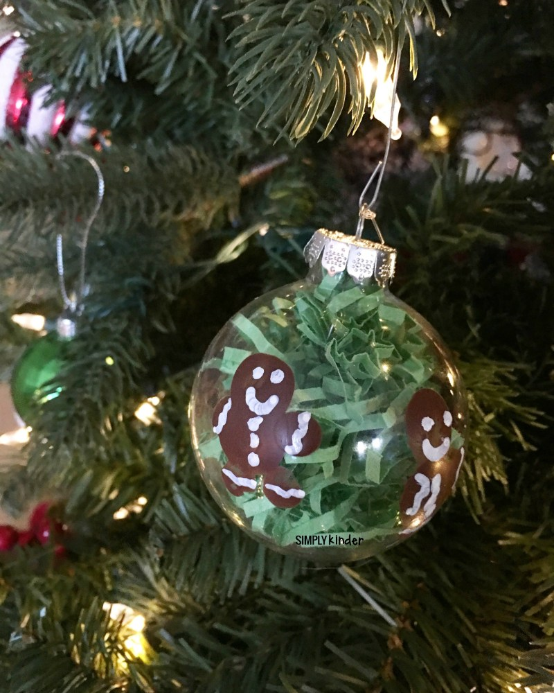 Christmas Ornament Parent Gifts
