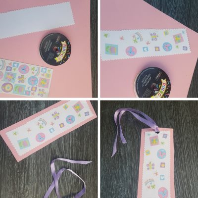 easy mother's day bookmark gifts stickers