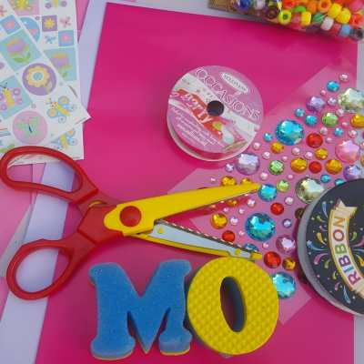 easy mother's day bookmark gifts supplies
