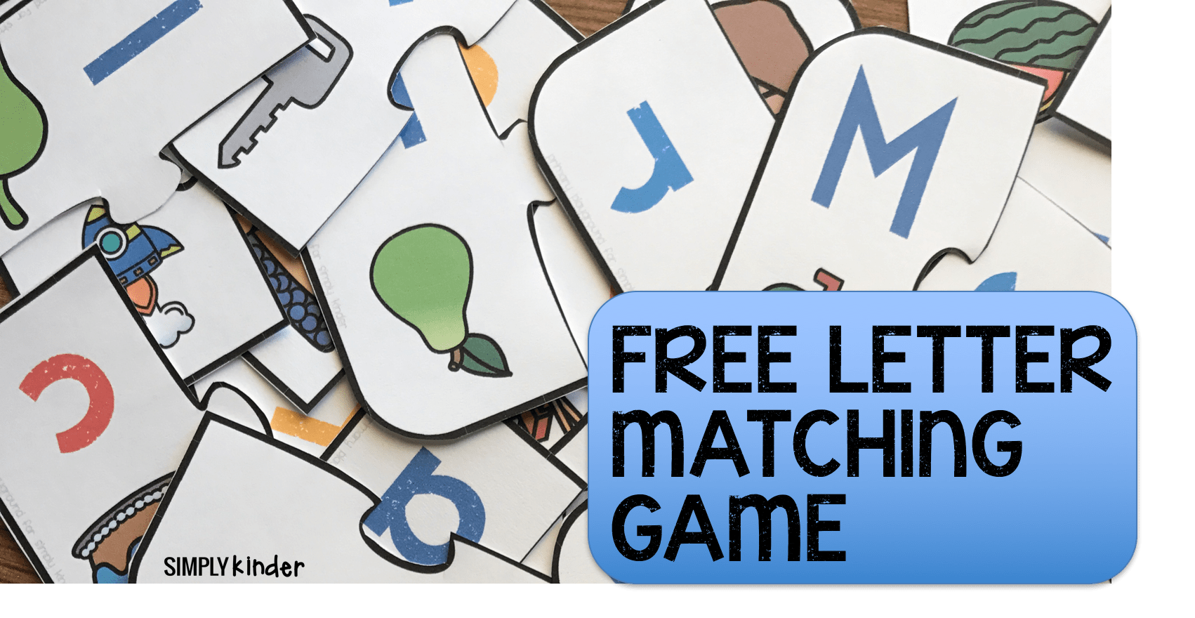Free Printable Letter Matching Game