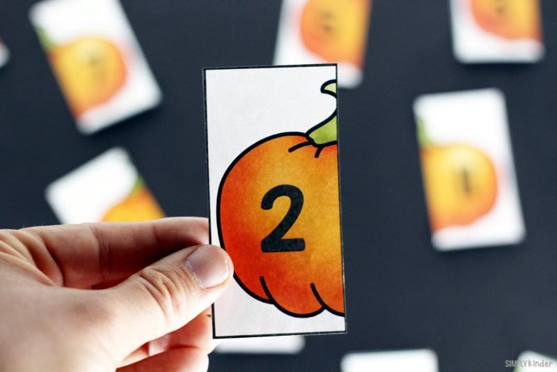 Pumpkins What Number Comes Next Printable