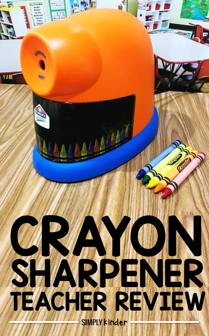Crayon Sharpener Review from Simply Kinder.