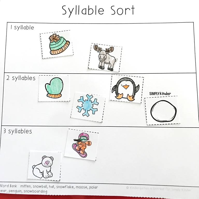 Syllable Sort - Free