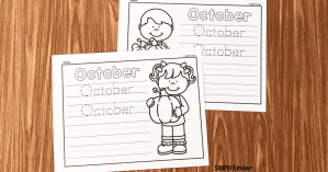 free October printable